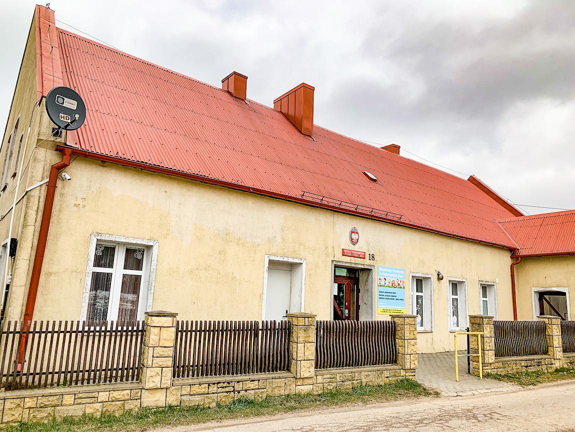 Szkoła w Pomieczyńskiej Hucie